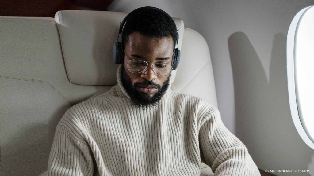 How To Use Wireless Headphones On A Plane